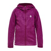 8848 BUD JR FLEECE JKT FUCHSIA
