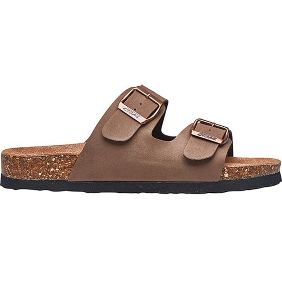 Cruz WHITEHILL W CORK SANDAL BROWN