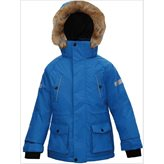 True North HUGO JR PARKA BLUE