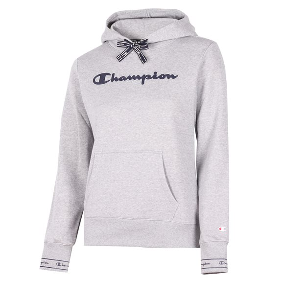 Champion HOODED W SWEATSHIRT GREY