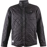 Marine EDWARD QUILTED JKT BLACK