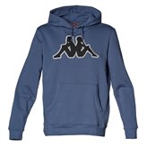 Kappa AIRITI HOOD DUSTY BLUE