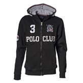 Vinson Polo Club JEFF JR FZ HOOD BLACK