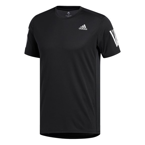 Adidas OWN THE RUN TEE BLACK/WHIT