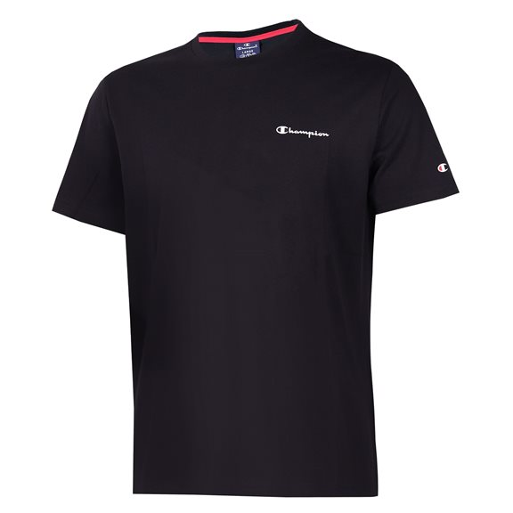 Champion CREWNECK S LOGO TEE BLACK