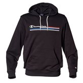 Champion HOODED GRAPHIC AUTH BLACK