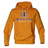 Champion HOODED GRAPHIC AUTH ORANGE