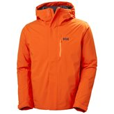Helly Hansen PANORAMA SKI JKT ORANGE