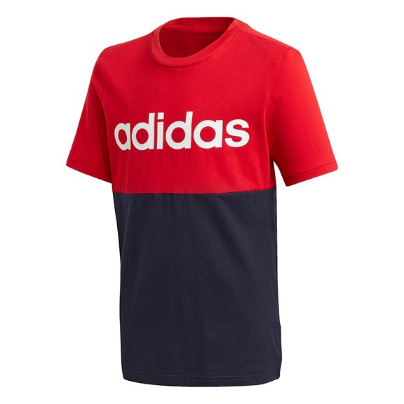 Adidas YB COLORBLOCK TEE RED